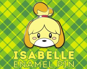Isabelle Inspired Enamel Pin