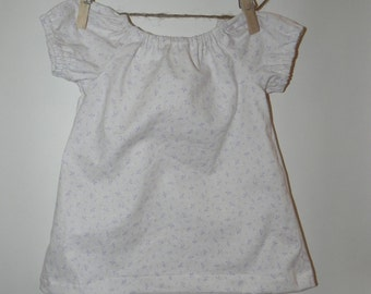 Phesant Dress with matching diaper cover (0-3 months)