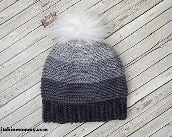 PDF Crochet Pattern - My Favorite Beanie Sizes Preemie to Adult Large