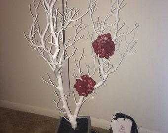 White Manzanita Tree/ Guestbook Tree for a 30th Birthday!