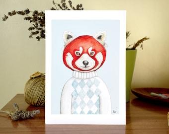 Mr Red Panda