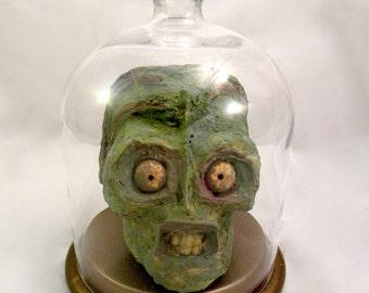 Alien Head Glass Cloche