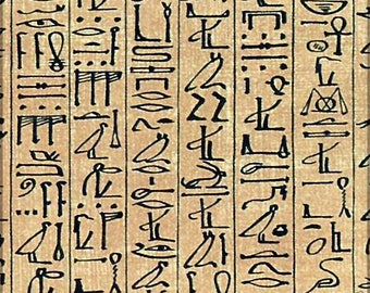 Poster, Many Sizes Available; Papyrus Of Ani, Egyptian Heiroglyphs