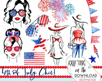 watercolor 4th of july clipart png file watercolor fourth of july clip art set watercolor summer fashion png watercolor summer clipart