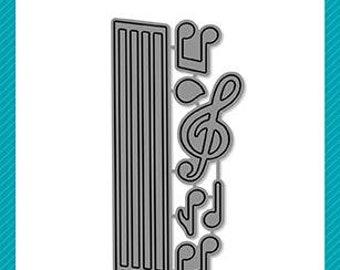 Lawn Fawn - Lawn Cuts - Dies - Little Music Notes