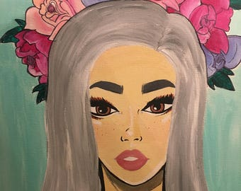 Flower Child Painting