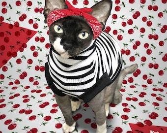 Sweatshirt for cat   Rockabilly by Polocats