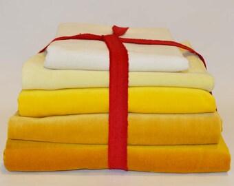 DIY Package Velvet Yellow