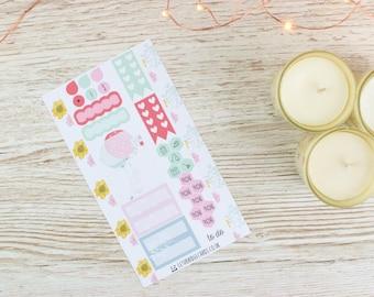 Kit printanier Bunny Personal Planner; Kit hebdomadaire; Kit AMT; Planner Stickers; Journal de balle; Filofax; Mini Kit; Kit hebdomadaire de Pâques; Kit de lapin