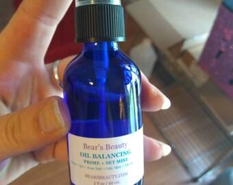 OIL BALANCING | Prime + Set Mist | Oily Skin Primer | Combo + Acne Prone Skin | Vegan Primer | Primer Water | Fix Plus | Natural Fix Plus