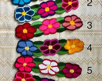 Mexican headband, Artesania mexicana,Deadema bordada,Boho style headband, Embroidered headband, Floral headband