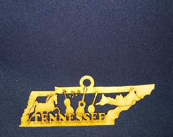 Tennessee state ornament