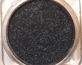 Mineral Eye Shadow RAVEN BLUE - 3 grams or  5 Grams - MYSTERIOUS Sensual