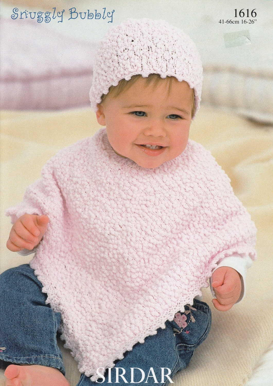 Baby poncho knitting pattern sirdar snuggly bubbly 1616 zoom bankloansurffo Image collections