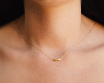 Gold necklace,layering necklace,tiny bead necklace,minimalist necklace gold,simple gold necklace,delicate necklace,14k gold filled jewelry
