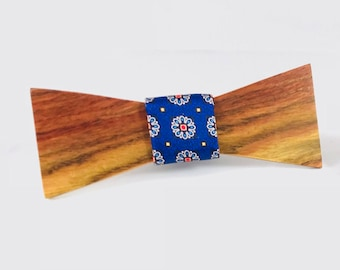 Chechen Wooden Bow Tie