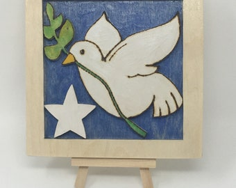 Dove of Peace Wall Hanging
