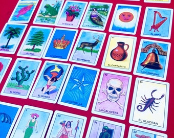 Loteria Game Deck Of Cards