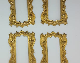 7 miniature Brass Frames