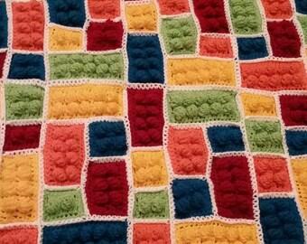 Lego Blanket - Multiple Block sizes - pattern only