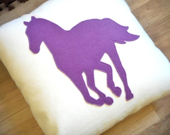 Horse Pillow, Gift ideas for Horse Lovers and Owners, Equestrian Home Decor