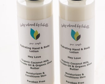 Love Spell Lotion | Hey Love | Lotion | Shea Butter Lotion | Natural Lotion | Vegan Lotion | Hand Lotion | Body Lotion | Organic Lotion