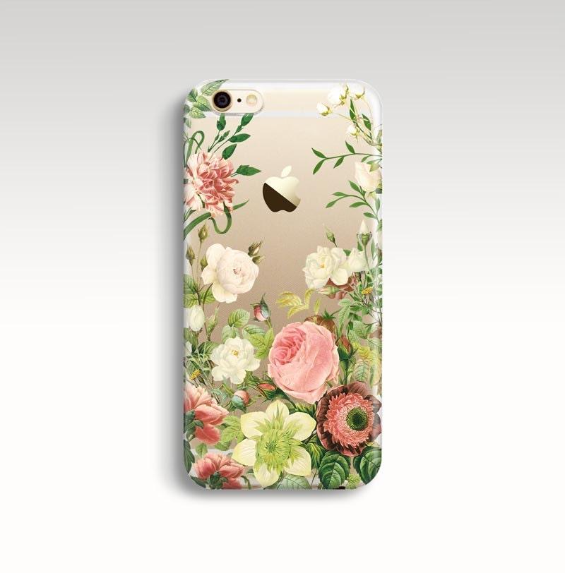 iphone 7 plus phone case flowers