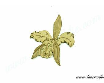 Flower style Iris, made of medium size 5cm