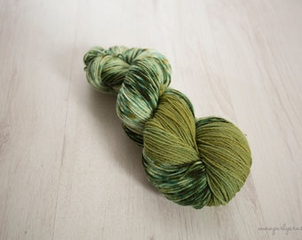 "Hand Dyed Yarn - ""A Great Day For Freedom"" Merino Sock, 4ply, Indie Dyed Yarn, 100g Skein"