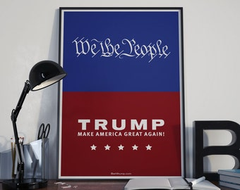 We The People - Art for Trump