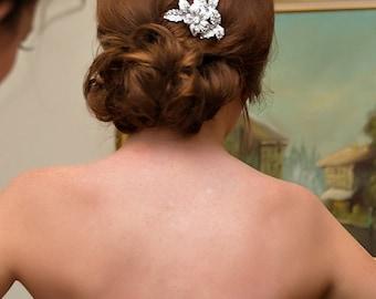 ON SALE Bridal Hair Comb, Vintage Wedding Crystal Bridal Accessory, Wedding Hair Jewelry, Crystal  Bridal Hair Comb, Bridal Head piece LEXI