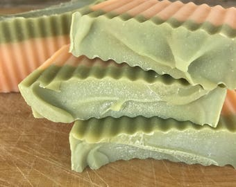 Grapefruit Eucalyptus Soap / Cold Process Soap / Handmade Soap / Natural Soap / Bar Soap / Vegan Soap