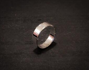 Cast Argentium Silver Ring