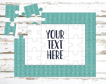Create Your Own Puzzle - Pregnancy Announcement - Custom Puzzle - Personalized Puzzle - Announcement Ideas - Wedding Announcement - CYOP0239