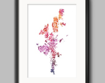 Fair Isle Shetland - 4 Colours