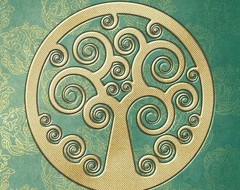 Celtic Tree of Life Style Journal
