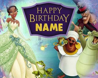 Princess and the Frog custom banner