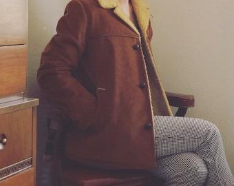 Vintage Woman's Corduroy Coat