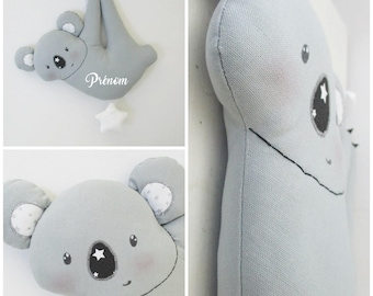 Musical Koala personalized bed hanging MOBILE