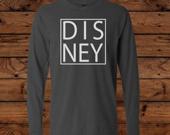 Disney -  Comfort Colors Long Sleeve T-Shirt - Disney Vacation