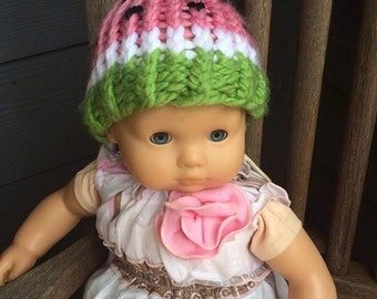 Doll Watermelon Knit Hat