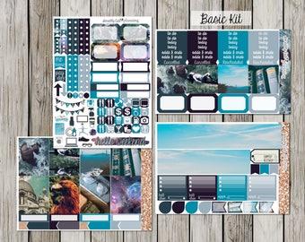 Ravenclaw Sticker Kit for Erin Condren Vertical Life Planner