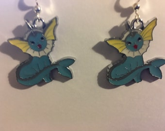 Pokemon Vaporeon Earrings   B59