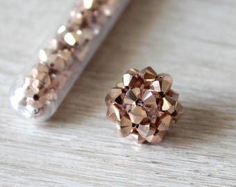 Individual Bookmark Rosegold - Bookmark for your Travelers Notebook with Swarovski Elements