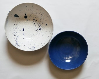 Large Ceramic Nesting Bowls; Mixing Bowls; Serving Bowls