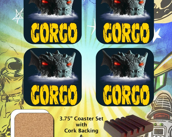 Gorgo / Monster / Coaster Set