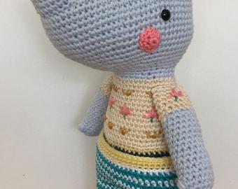 Rhinka The Rhino Amigurumi Rhino Crochet Pattern Faux