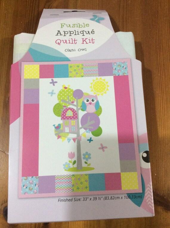 Olani Owl Design Baby Child Childrens Crib Cot Quilt Kit