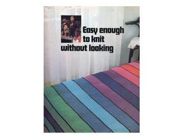 Rainbow Stripe Blanket Knitting Pattern