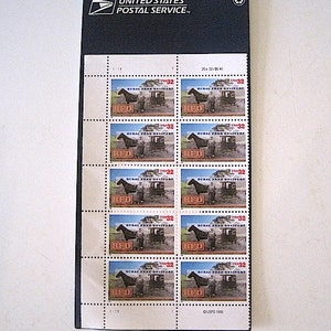 Ten 1995 Rural Free Delivery Unused USPS Stamps